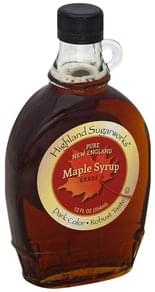 Highland Sugarworks Maple Syrup Pure New England, Dark Color