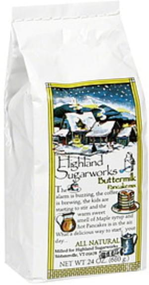 Highland Buttermilk Pancake Mix - 24 oz