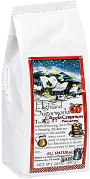 Highland Apple Cinnamon Pancake Mix - 24 oz