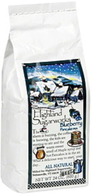 Highland Blueberry Pancake Mix - 24 oz