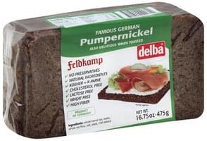 Delba Bread Pumpernickel
