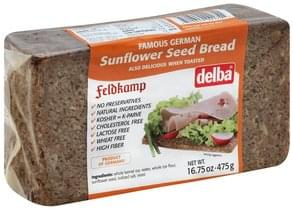 Delba Bread Sunflower Seed