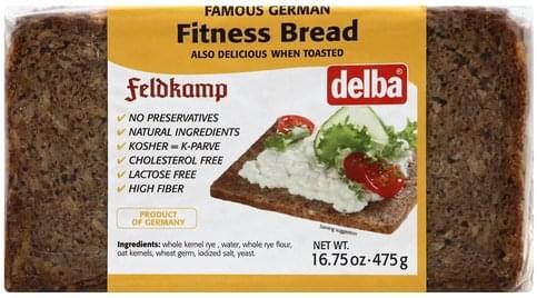 Delba Fitness Bread - 16.75 oz