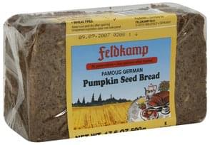 Feldkamp Bread Pumpkin Seed