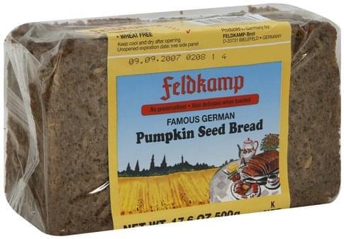 Feldkamp Pumpkin Seed Bread - 17.6 oz