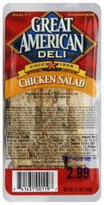 Great American Sandwich Chicken Salad