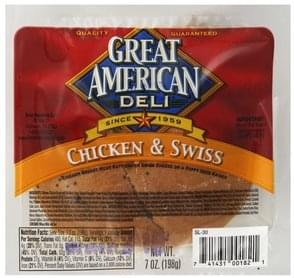 Great American Sandwich Chicken & Swiss