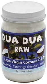 Dua Dua Coconut Oil Organic, Extra Virgin