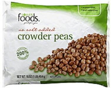 Lowes Foods Crowder Peas