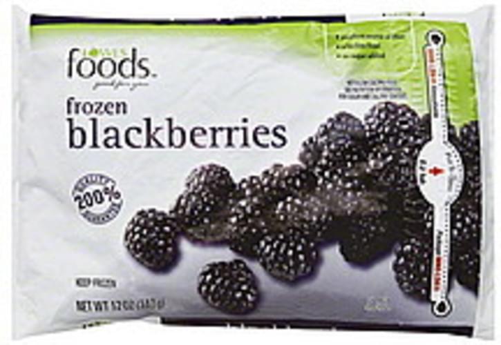 Lowes Foods Frozen Blackberries - 12 oz