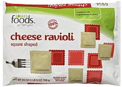 Lowes Foods Ravioli Square Shaped, Cheese