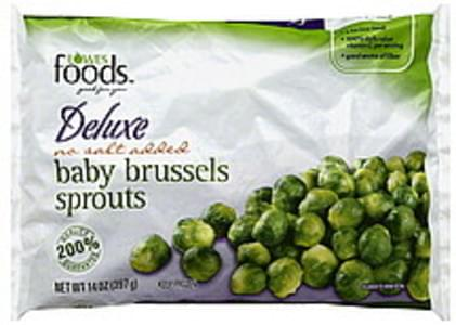 Lowes Foods Brussels Sprouts Baby, Deluxe