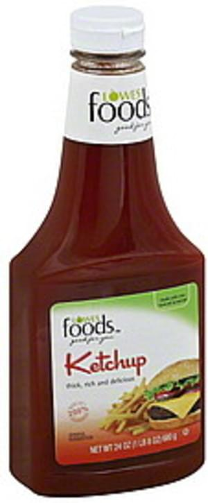 Lowes Foods Ketchup - 24 oz