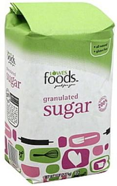 Lowes Foods Sugar Granulated