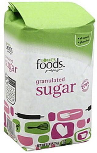 Lowes Foods Granulated Sugar - 5 lb