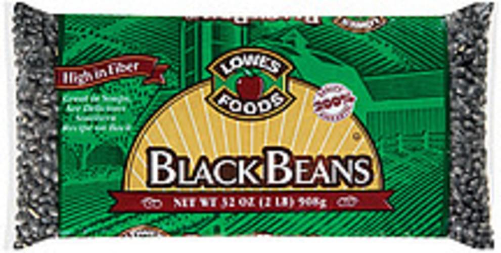 Lowes Foods Black Beans - 32 oz