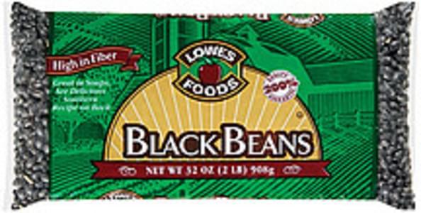 Lowes Foods Beans Black