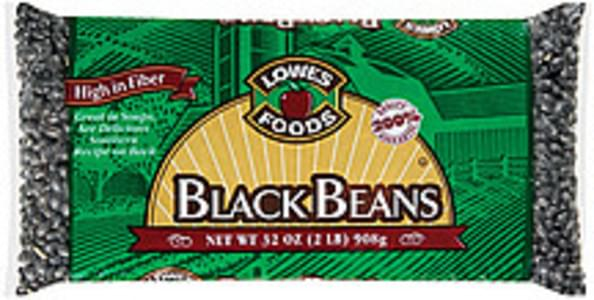 Lowes Foods Beans Black