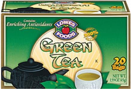 Lowes Foods Tea Bags Green Tea