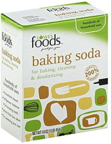 Lowes Foods Baking Soda - 16 oz