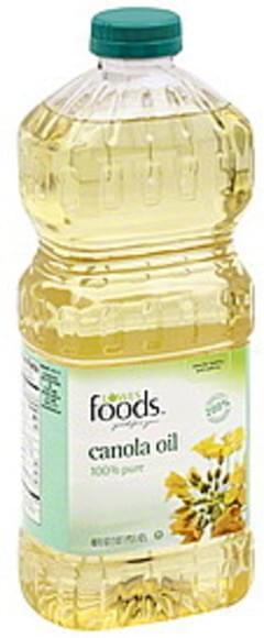 Lowes Foods Canola Oil 100% Pure