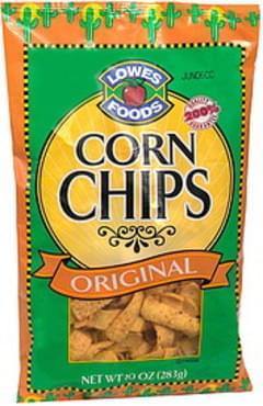 Lowes Foods Corn Chips Original