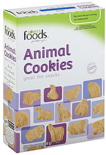 Lowes Foods Animal Cookies - 13 oz