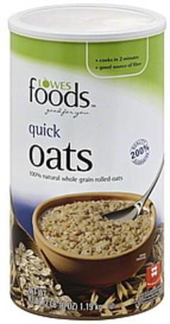 Lowes Foods Oats Quick