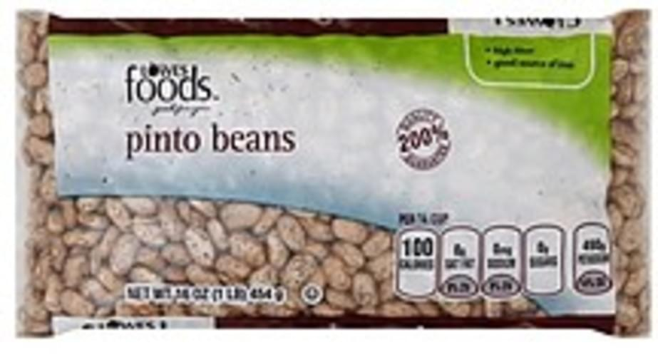 Lowes Foods Pinto Beans - 16 oz