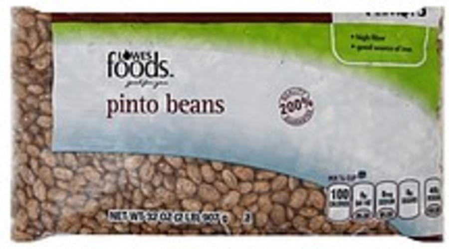 Lowes Foods Pinto Beans - 32 oz