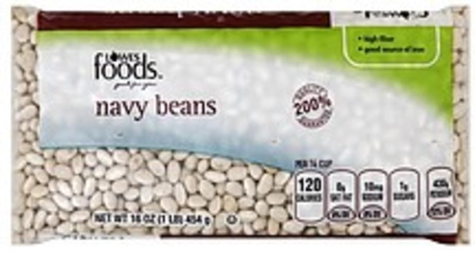 Lowes Foods Navy Beans - 16 oz