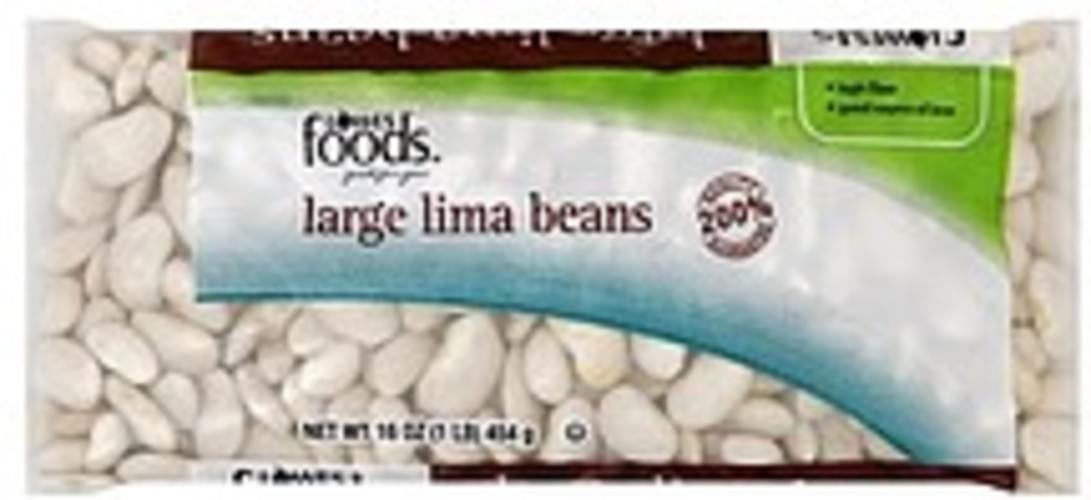 Lowes Foods Large Lima Beans - 16 oz
