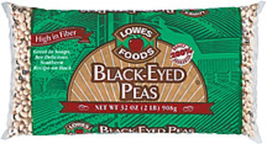 Lowes Foods Black-Eyed Peas - 32 oz
