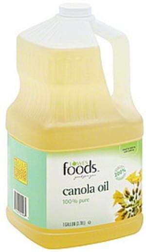 Lowes Foods 100% Pure Canola Oil - 1 gl