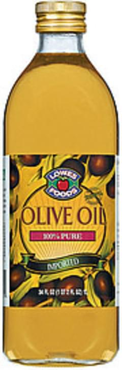 Lowes Foods Olive Oil 100% Pure Imported