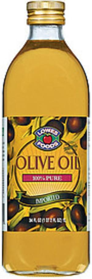 Lowes Foods 100% Pure Imported Olive Oil - 34 oz