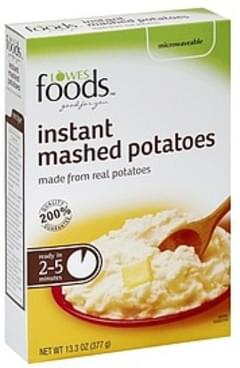 Lowes Foods Mashed Potatoes Instant