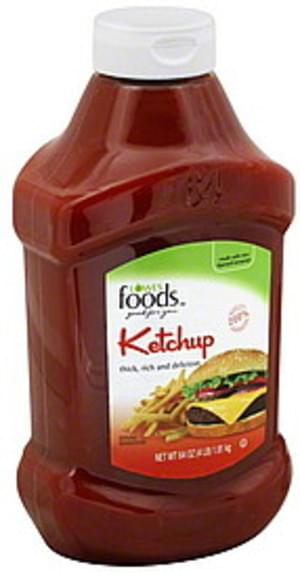 Lowes Foods Ketchup - 64 oz
