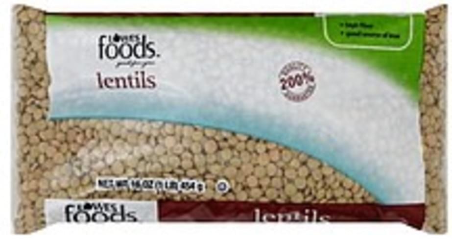 Lowes Foods Lentils - 16 oz