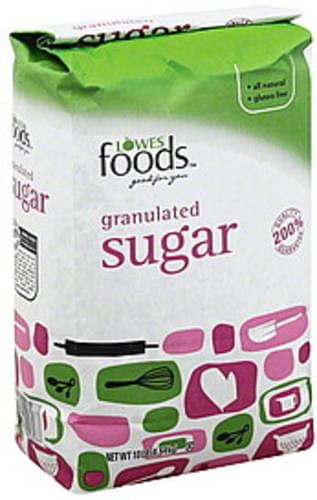 Lowes Foods Granulated Sugar - 10 lb