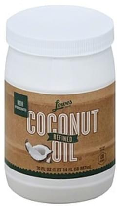 Lowes Foods Coconut Oil Refined