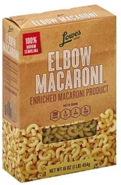 Lowes Foods Elbow Macaroni