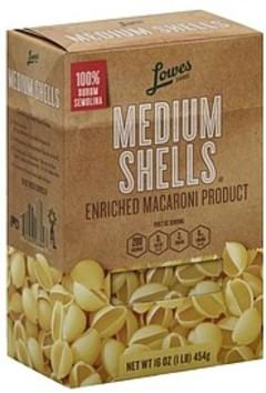 Lowes Foods Shells Medium