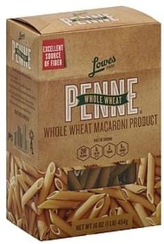 Lowes Foods Penne Whole Wheat