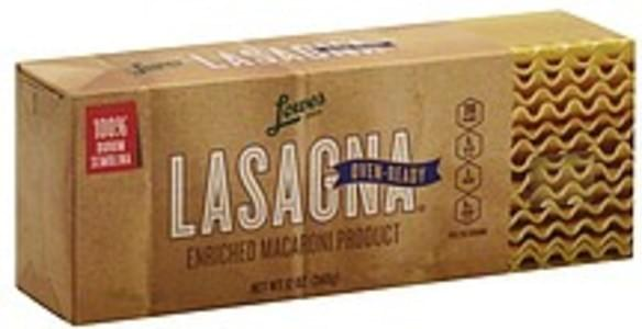 Lowes Foods Lasagna Oven-Ready