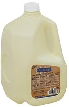 Lowes Foods Milk Skim, Fat Free Skim