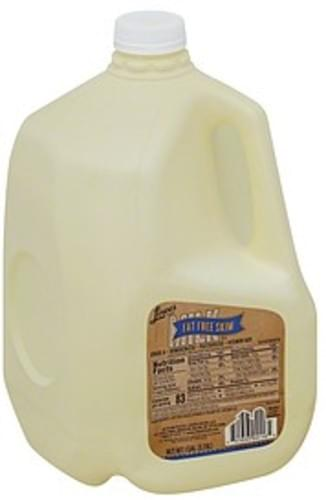 Lowes Foods Skim, Fat Free Skim Milk - 1 gl