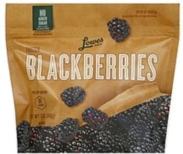 Lowes Foods Blackberries Frozen