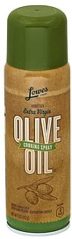 Lowes Foods Cooking Spray Extra Virgin Olive Oil, Nonstick