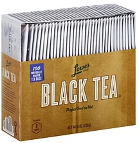 Lowes Foods Bags Black Tea - 100 ea
